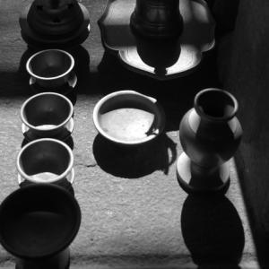 静かな影:橿原市「おふさ観音」