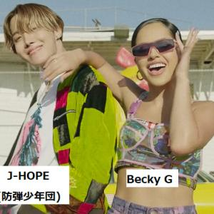 j-hope(BTS) 「Chicken Noodle Soup」(feat. Becky G)