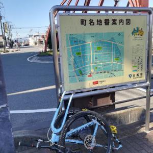 埼玉でMTBに乗ってました(マウンテンバイク)