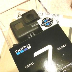 アクションカメラ Gopro Hero7 Black (マウンテンバイク)
