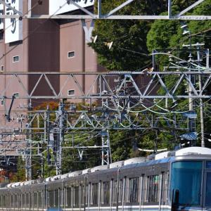 【新快速50周年ヘッドマークシール列車撮影etc備忘録 @山崎駅】 20'10/25