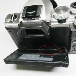 OLYMPUS OM-D E-M10 Mark II 壊れる