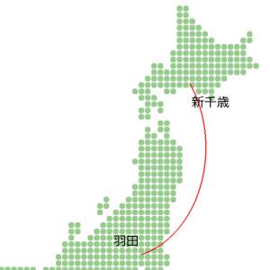 北海道ツーリング2020 最終日 千歳→羽田