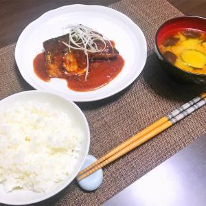 家庭の味!今すぐ作りたくなるサバの味噌煮! (2019.12.3 自炊記録p.29)
