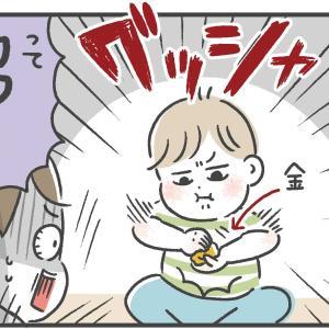 息子の折り紙の使い方に驚愕【3歳】