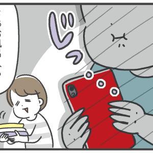 離乳食にマウントを取る息子【3歳】