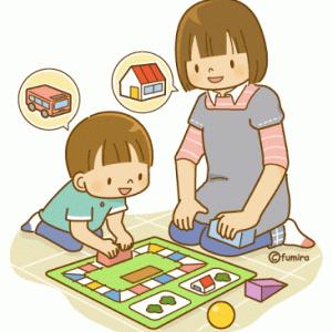 子供と遊ぶ時は徹底的に