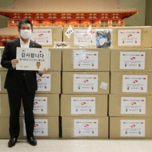 韓国人「慶州のコロナ防疫物資支援に日本人ブチ切れ…」「通貨スワップ?」