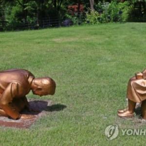 【誤解】製作者「安倍謝罪像は安倍が謝罪する姿を見たくて安倍だったらいいなと思って作ったけど安倍ではない」 安倍か否かで韓国の国論真っ二つ