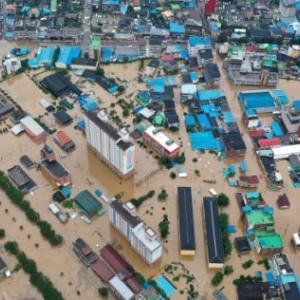 【呪い】韓国人「韓国、完全に水没した状態から台風5号が明日直撃…これが日本を嘲笑ってた結果なのか?」「日本に上陸してくれ頼む…!」