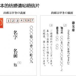 中国人「日本の結婚式招待ハガキの返信が凄いことになっている」 中国の反応