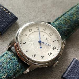 男女ともに楽しめるアール・デコのスタイルとユニークなストラップの自動巻き腕時計VARIO「Empire Art Deco」