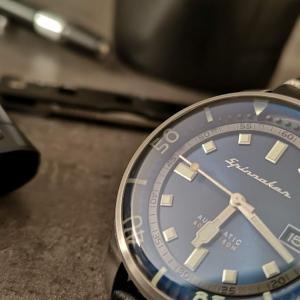 手頃価格でコンプレッサーも、様々な表情も楽しめるレトロモダンな腕時計Spinnaker「BRADNER」(特別割引クーポン付き!)