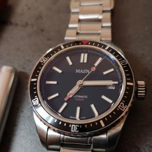 3000万円を集めたあのヴィンテージ風ダイバーズ腕時計の最新版。MAEN Watches「Hudson MKIII」プロトタイプモデルレビュー