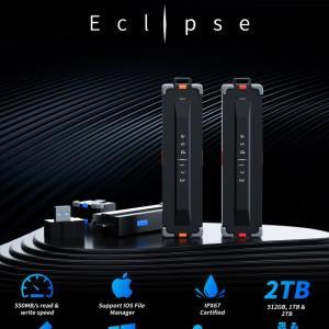 超頑丈な高速小型SSD、ECLLPSE。Indiegogoで資金調達中