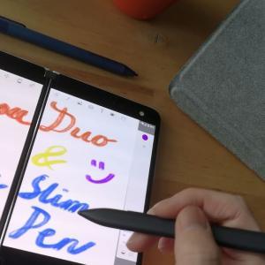 Surface Slim Pen(と第二世代Surface Pen)をSurface DuoとGoで使ってみたり
