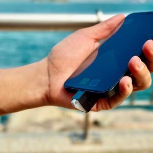 サソリのような構造でスマホにブッ挿す小型高速SSD「Rapid SSD」Indiegogoで500%以上達成中