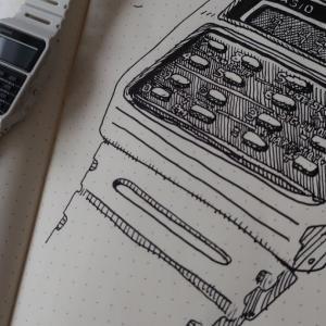 安価でお洒落で電卓つき!カシオのチプカシCA-53WF(-8B)