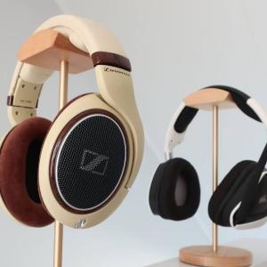 Etsyで買ってみた:ミニマル格好いい木製のヘッドホンスタンドが欲しい!