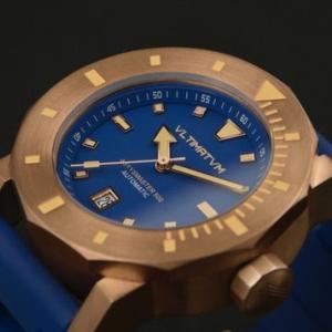 500m防水!力強いスパニッシュデザインのダイバーズウォッチ。Vltimatvm Watches「Abyysmaster 500」