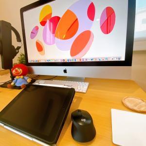 副業イラストレーターの仕事環境紹介/リビングの隅っこでお絵描き活動
