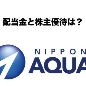 日本アクア(1429)の配当金と株主優待は?