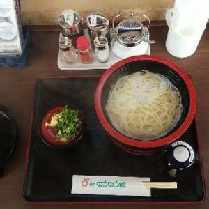 つるぎ町名物の半田素麺が普通に食べられるお店。