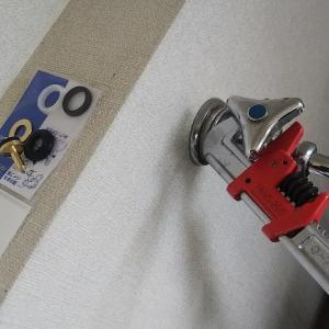 洗濯機蛇口のパッキンとコマ全交換。