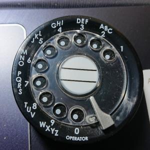 黒電話の感触