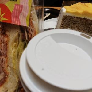 スタバのサンドイッチ