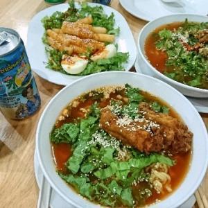 タイで食べる韓国ラーメン