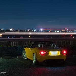 伊丹空港周辺で楽しむ飛行機撮り・愛車撮り(Part1 伊丹スカイパーク)