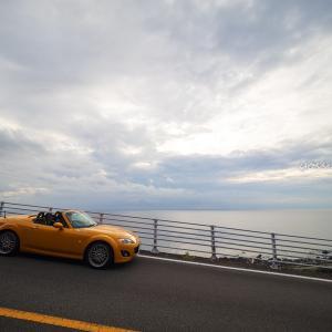 【向日葵色のロードスターで行く】四国の海の幸を満喫する旅(Part1)