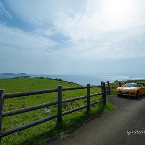 【向日葵色のロードスターで行く】梅雨の晴れ間を満喫する旅(Part.4 加部島の絶景)