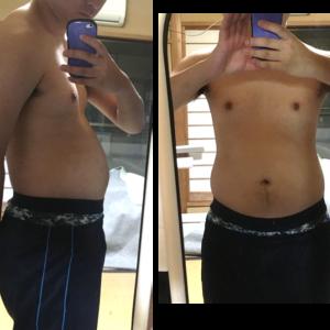 [1ヶ月で-10kg][87.2kgから77.0kg]BMI28。20代男子の本気のダイエット〜結局痩せるには食事制限+筋トレ〜