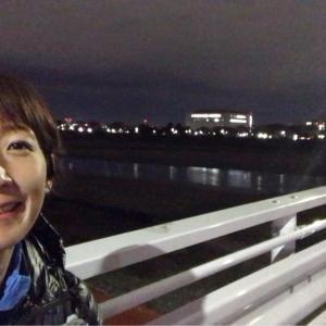 ペース刻みながらの帰宅ラン10㎞と明日の戸田橋30K(ペーサー)