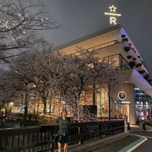 夜桜花見ラン&低酸素ラン