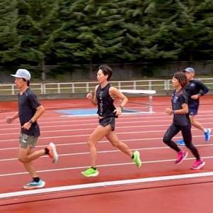 北海道合宿1日目:北海道グルメ&舞さんと1,000m×15本