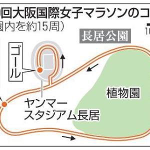 大阪国際10日前:今日はノーラン!大阪国際周回コースに決定