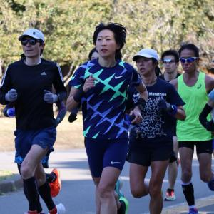 フル2週間前:DACハーフマラソン練習会へ!