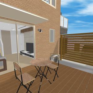 3Dホームデザイナー12で我が家の室内3Dパースを作成してみました【壁紙クロス選び】