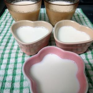 手作り杏仁豆腐