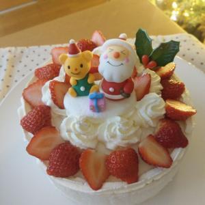 令和元年、手作りクリスマスケーキでおうちクリスマスパーティー