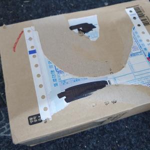 旅行に持参すると超便利!韓国義母から届いた小包を開封!