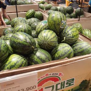 夏休みの「密」過ぎる韓国大型スーパー!即退散!!