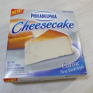 人気のチーズケーキが2つ届いた理由!韓国ネットお取り寄せ品!