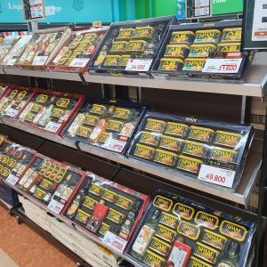 すっかり「お盆仕様」の韓国スーパー!毎年の定番品!