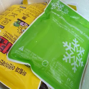 韓国通販ライブを見てポチった冷凍食品が到着!