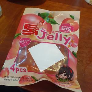 韓国で今爆発的人気の「トックゼリー」をラス1で購入!