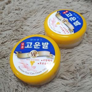 韓国でロングセラーのド定番「かかとクリーム」を購入!